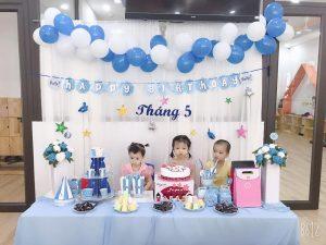 Tiệc buffet sinh nhật tháng 5 – Mầm Non BiBi 10
