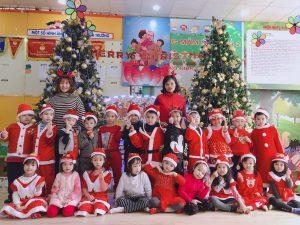 Giáng sinh an lành cùng các bạn nhỏ Hệ thống mầm non BiBi và TH Dream
