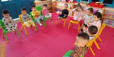 Bài thơ: Hoa và Em bé – Lớp Gấu Trúc- BiBi 9 Lĩnh Nam