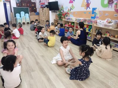 Giờ học múa của các bạn nhỏ Mẫu giáo nhỡ – BiBi 2 Tân Mai