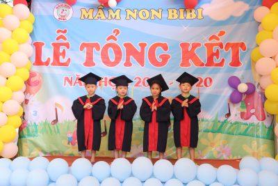 Trường Mầm non BiBi 9 tổng kết năm học 2019-2020